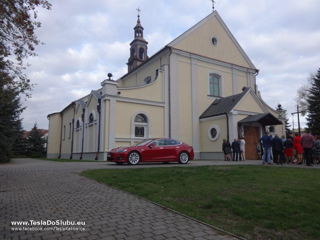 Tesla do ślubu Ostrołęka
