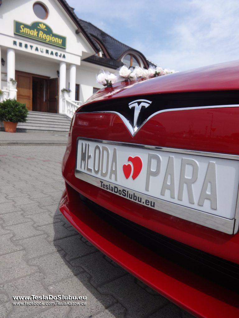 Tesla do ślubu Pawłowice