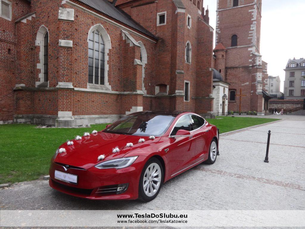 Tesla do ślubu w Krakowie
