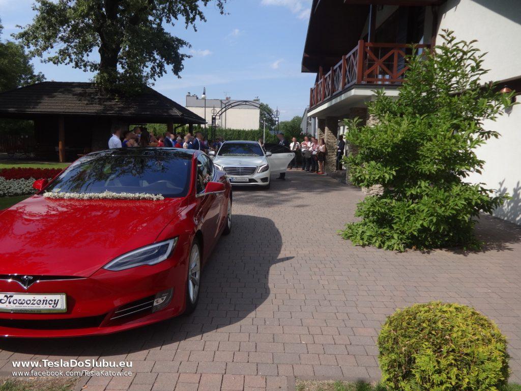 Tesla do ślubu Wadowice
