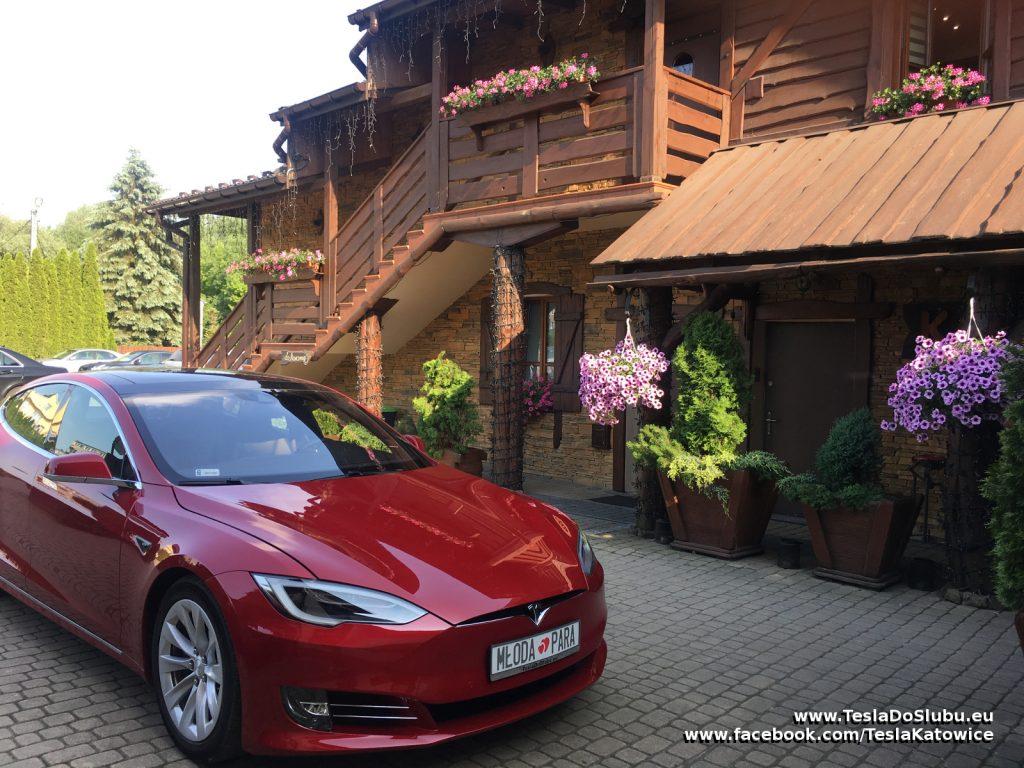 Tesla do ślubu Wolbrom (Karczma Klimtówka w Wolbromiu)