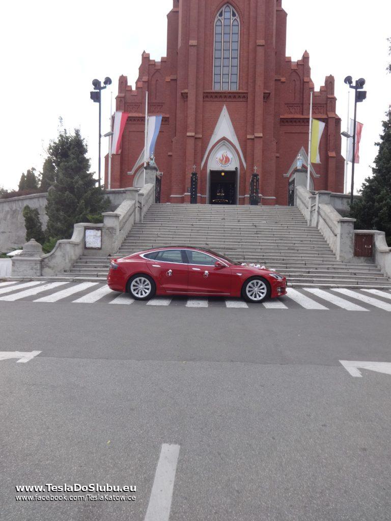 Tesla do ślubu Zgierz