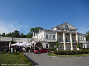 Tesla wynajem do ślubu i na wesele Dwikozy Hotel Sandomierz
