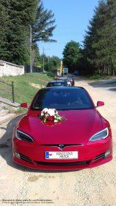 Tesla Jaworzno wynajem do ślubu i na wesele