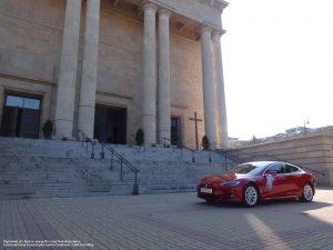 Tesla Katowice wynajem do ślubu i na wesele