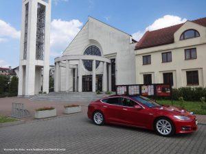 Tesla Kraków wynajem do ślubu i na wesele