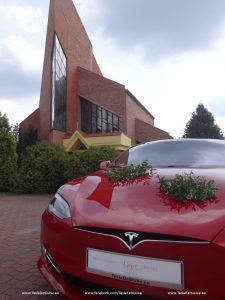 Tesla wynajem do ślubu Myszków