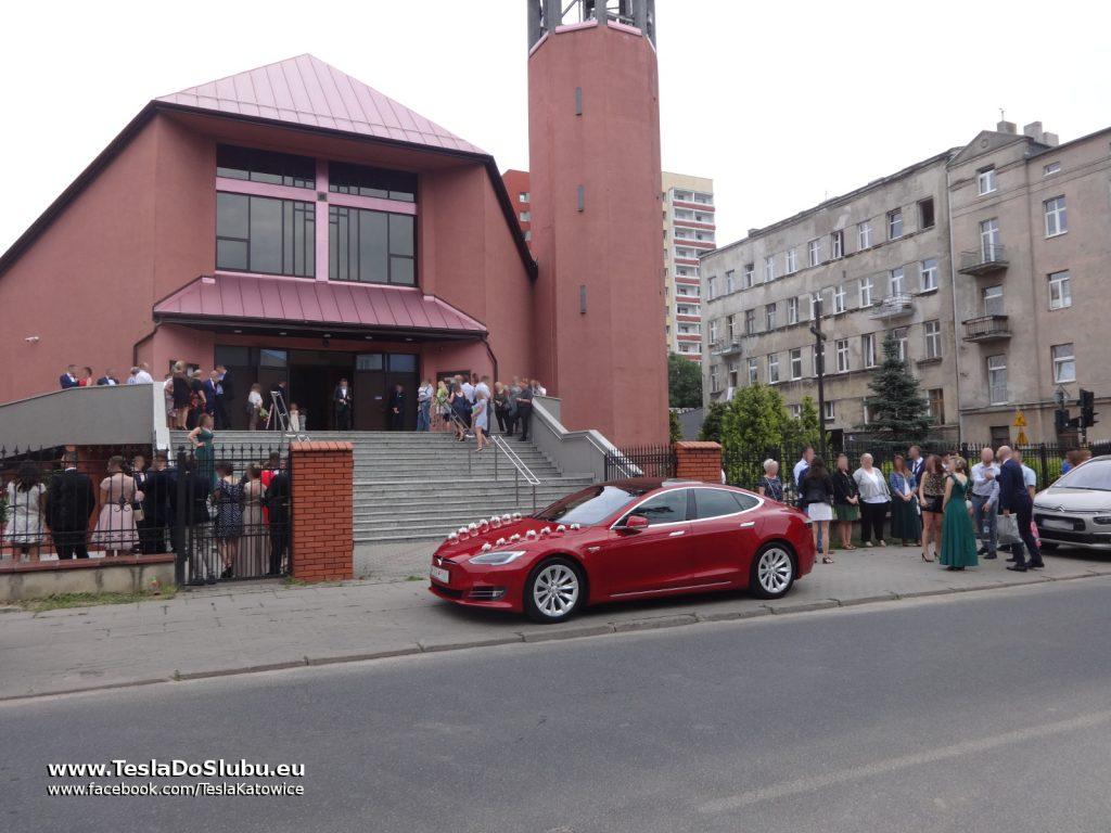 Tesla na ślub Łódź