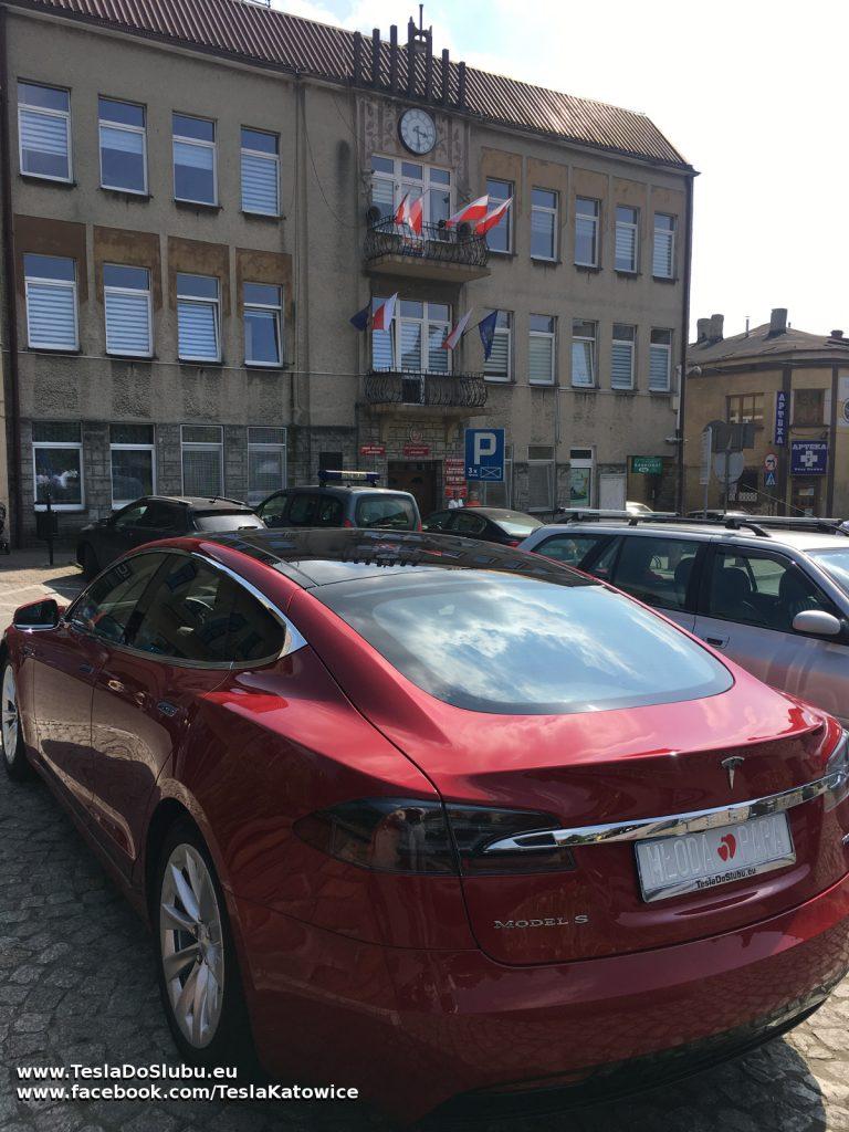 Tesla na ślub Wolbrom (Urząd Stanu Cywilnego w Wolbromiu)