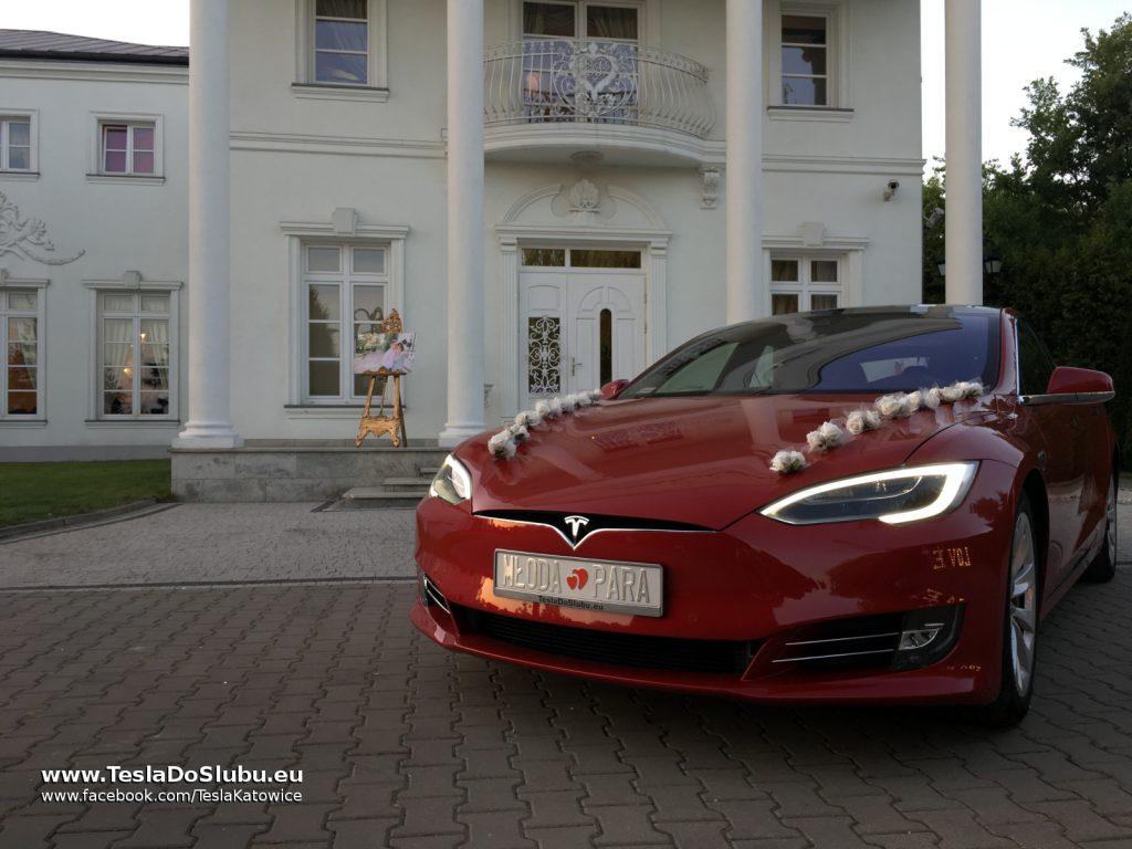 Tesla na wesele Konstantynów Łódzki (Biały Pałac woj. łódzkie)