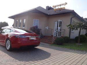 Tesla na wesele Mikołów Restauracja Niken