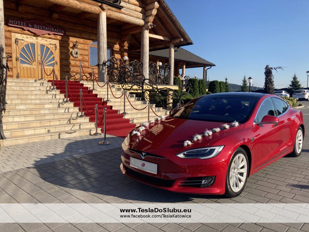 Tesla na wesele Świętokrzyskie