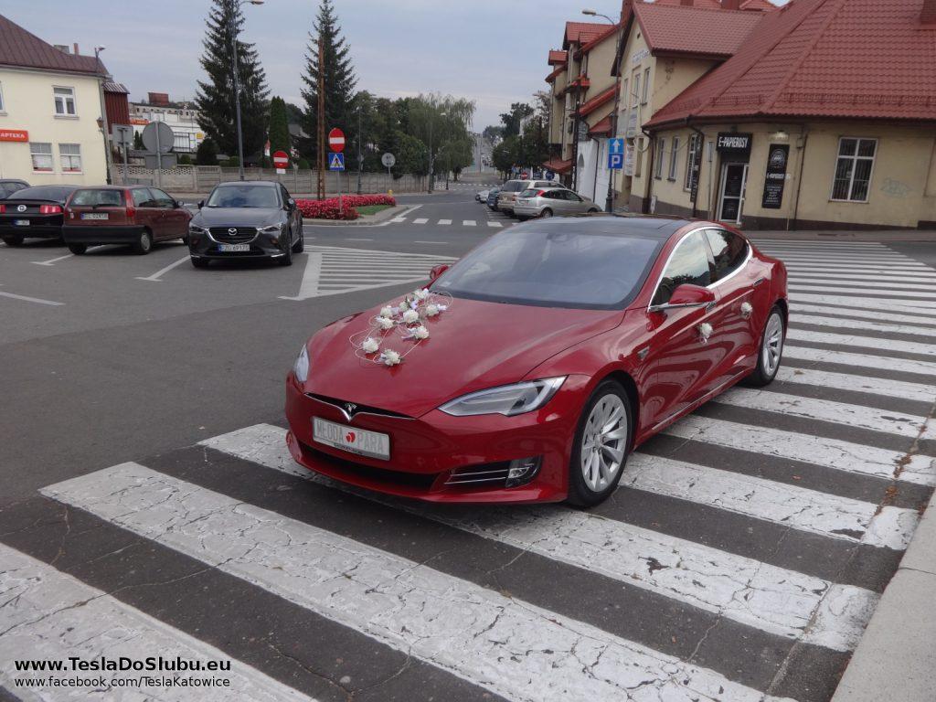 Tesla na wesele Zgierz
