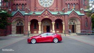 Tesla wynajem na ślub i wesele w Panewnikach
