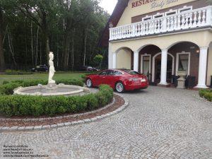 Tesla Model S na weselu w Paniówkach pod Gliwicami