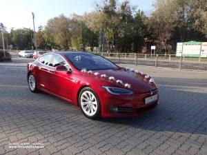 Tesla do ślubu i na wesele Warszawa