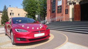 Tesla wynajem do ślubu Sosnowiec
