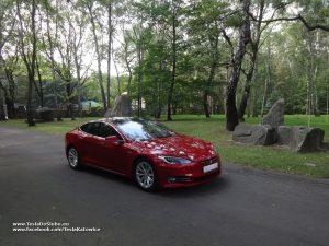 Tesla wynajem na ślub Chorzów Park Śląski